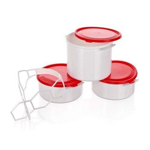 BANQUET 3-dílný plastový jídlonosič APETIT