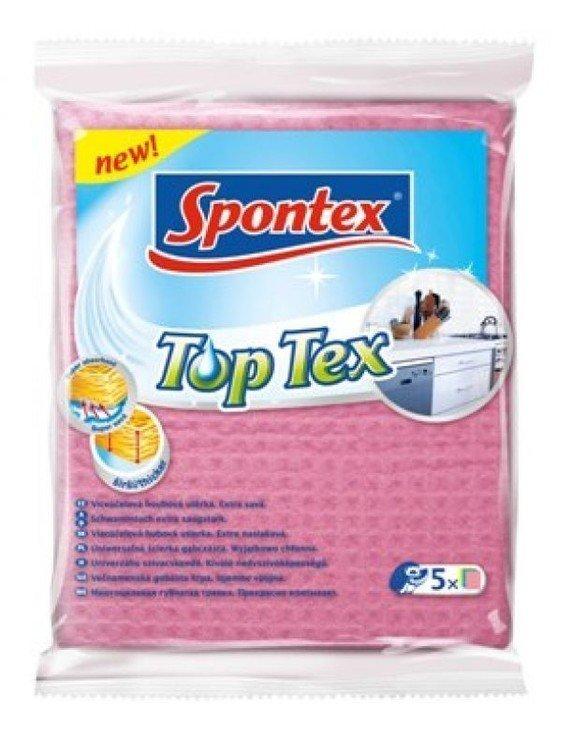 Víceúčelová houbová utěrka 5 ks Spontex Top Tex
