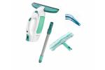 Leifheit Vysavač na okna Window Cleaner + tyč + mop + čistič žaluzií 51003 + 41316
