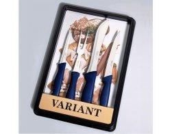 KDS Sada nožů Variant - maso (modrá)