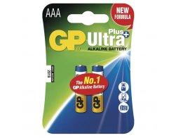 Alkalická baterie GP Ultra Plus LR03 (AAA),blistr