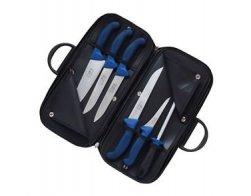 KDS Kabela s řeznickými noži Profi Line (modrá)