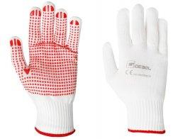 Pletené rukavice s nopkami RED FEX velikost 10 - blistr