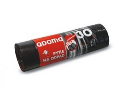 Pytle odpadkové LDPE zatahovací 30l/20 ks 50x60cm