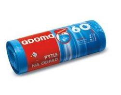 Pytle do odpadkových košů HDPE 60l/28 ks 60x70cm - modré