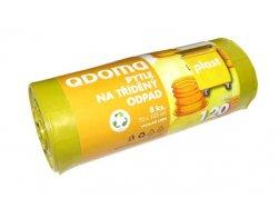 Pytle do odpadkových košů LD120l/8 ks PLAST žlutá