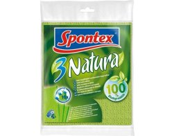Spontex 3 Natura houbová utěrka