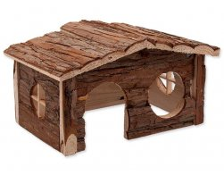 Domek SA dřevěný jednopatrový 28,5x19,5x16,5cm