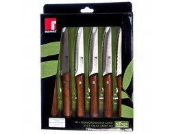 Sada steakových nožů Bergner Nature Gaucho 6 ks