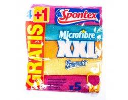 Spontex Microfibre Economic XXL 4+1ks.