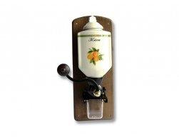Lodos Mlýnek na kávu nástěnný - vzor Ovoce