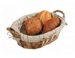 Kesper Košík na chléb oválný s textilní vložkou