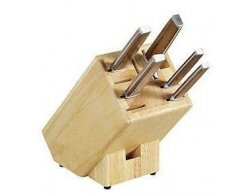 Kesper Blok na nože, dřevo gumovníku