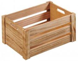 Kesper Dřevená bedýnka 16 cm