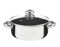 CERAMMAX PRO STANDARD rendlík s poklicí 22cm 3,0l, granit černá