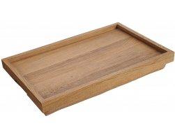 Kesper Servírovací podnos s polštářem, dřevovláknitá deska 50 x 32 cm