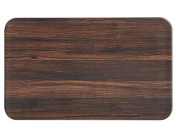 Kesper Dekorativní deska, Dřevo 23,5 x 14,5 cm