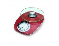 Soenhle Digitální kuchyňská váha Vintage Style Red 66229