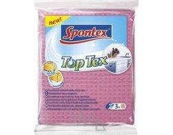 Víceúčelová houbová utěrka 3 ks Spontex Top Tex