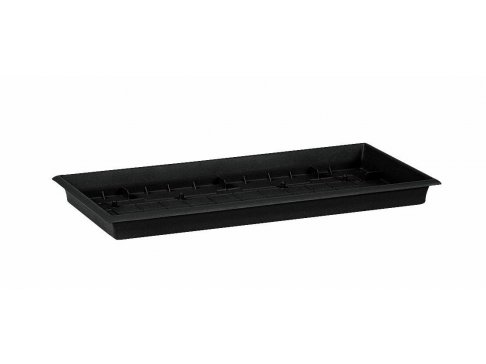 Podmiska TERRA GRANDE 57x27cm, barva: tmavě šedá