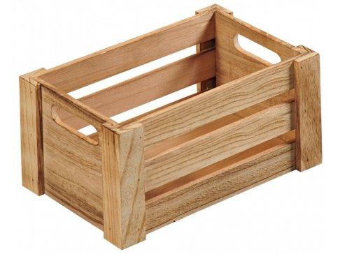 Kesper Dřevěná bedýnka 16 cm
