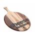 Prkénko dřevěné na sýry 30.5X41X1.5CM Akátové dřevo