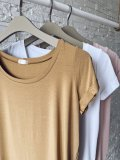 Basic tričko - Skořice (bambus)