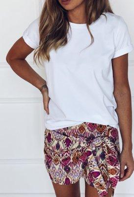 Bavlněné tričko - Bílé