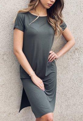 Basic šaty - Khaki