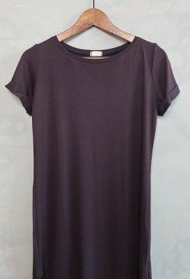 Basic šaty - Tmavě hnědé