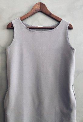 Bavlněné šaty - Světle šedé