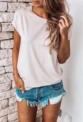 Basic tričko - Purové One size