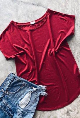 Basic tričko - Červené One size