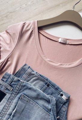Basic tričko - Světle růžové