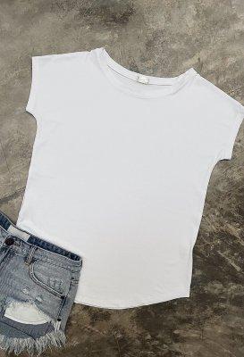 Basic tričko one size - Bílé