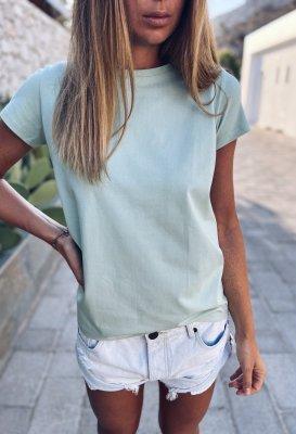Bavlněné tričko - Mint