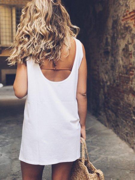 Šaty - Bílé
