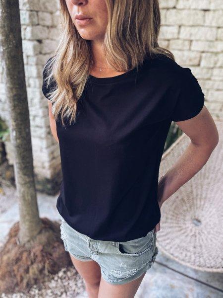 Basic tričko one size - Černé