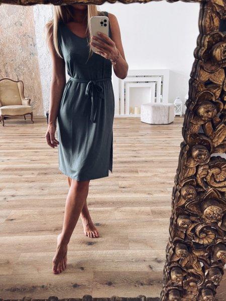 Letní šaty - Khaki