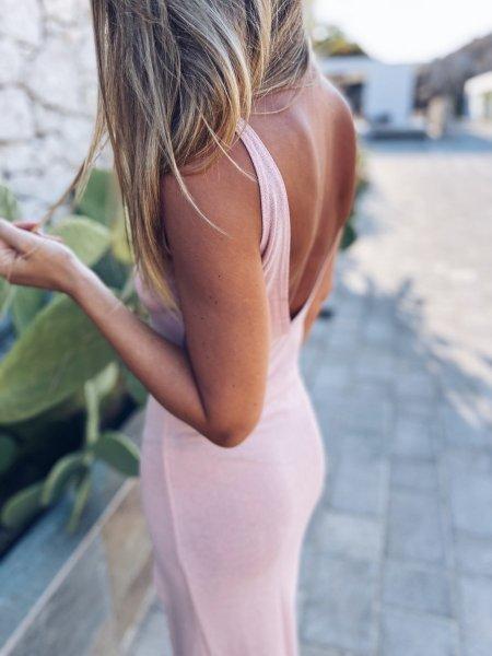 Letní šaty - Růžové