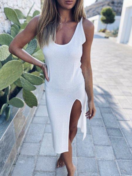 Letní šaty - Ivory