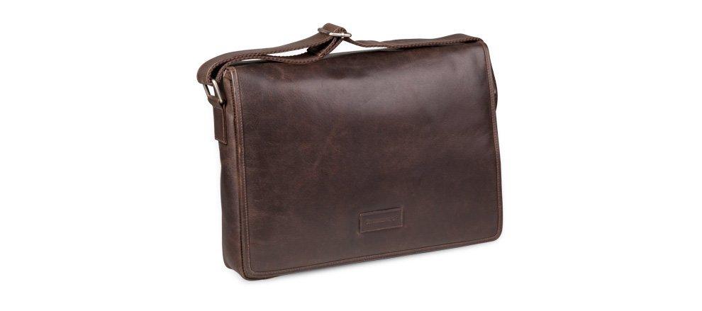 Pánská kožená taška - messenger bag