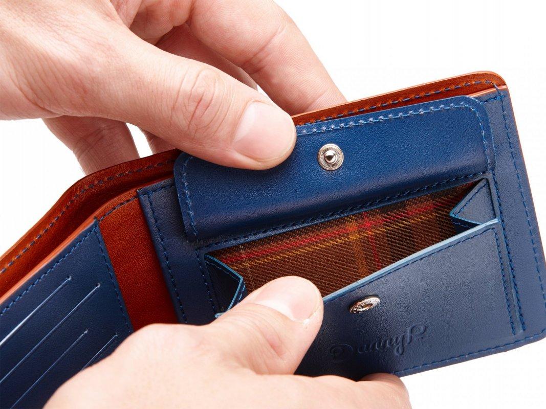 Kožená peněženka s kapsou na mince