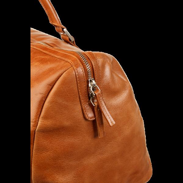 Víkendová kožená taška na cestování