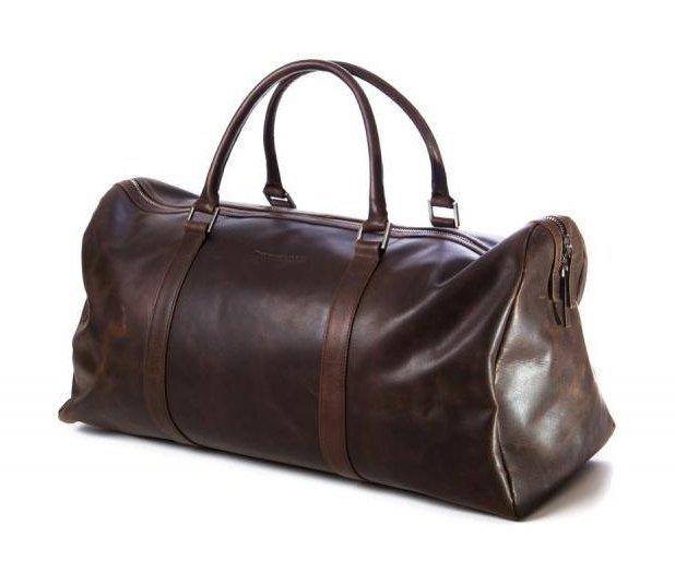 Cestovní taška z kůže