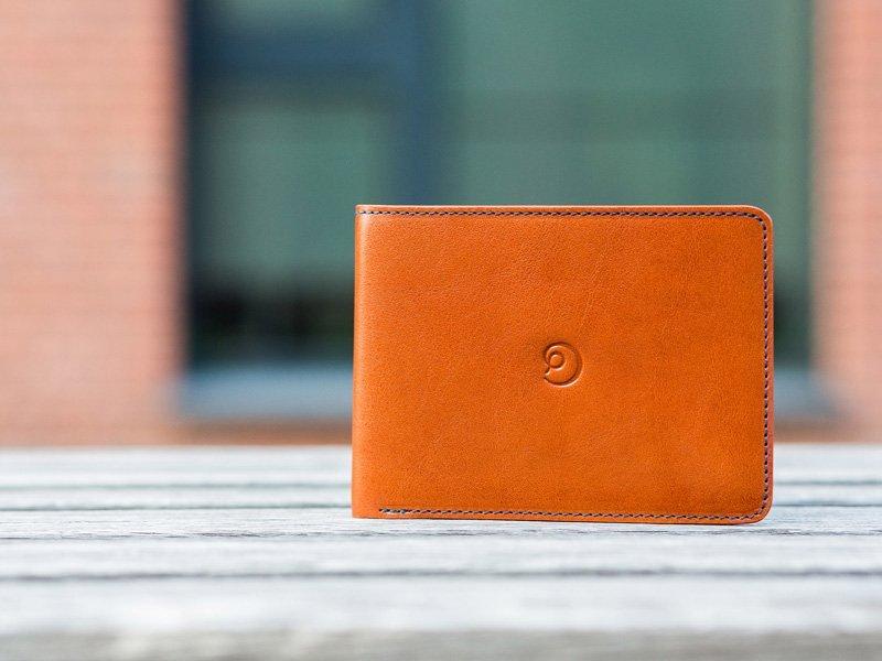 Pánská slim kožená peněženka