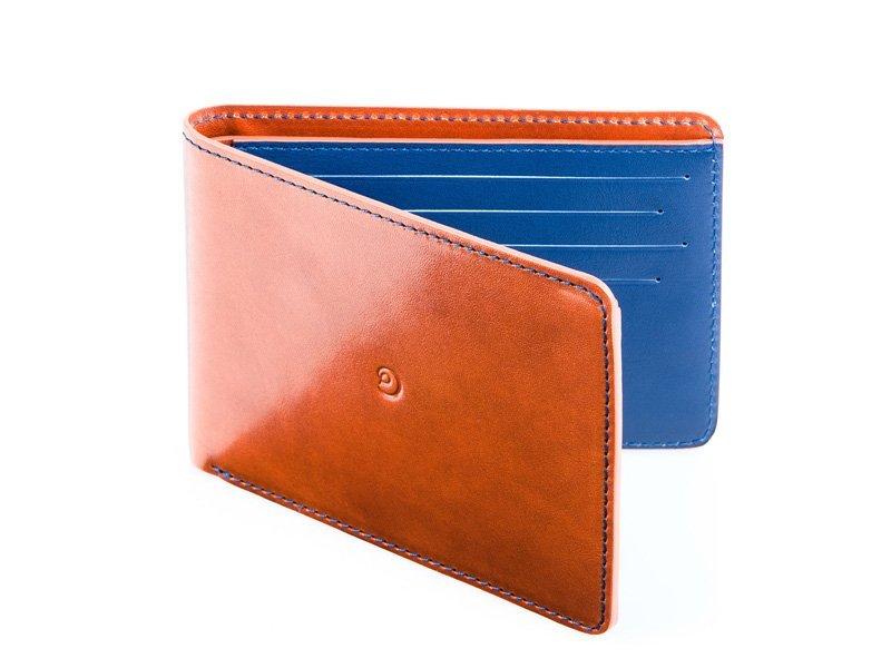 Pánská ultratenká kožená peněženka