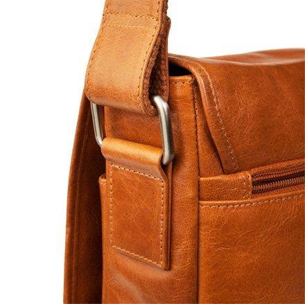 Pánská kožená messenger bag taška