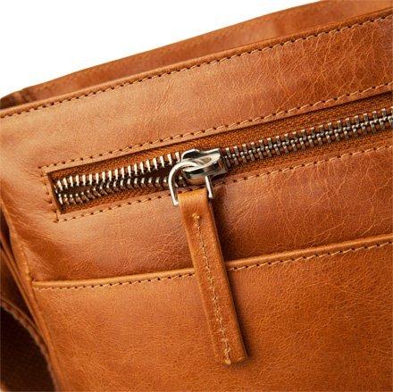 Kožený messenger bag