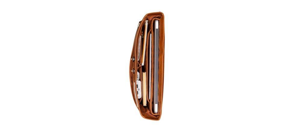 Pánský kožený messenger bag